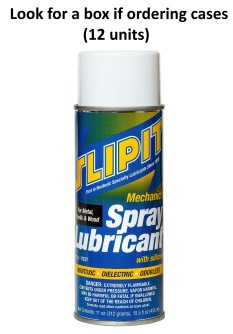 SLIPIT Spray Lubricant – With silicones (11oz net) *NO AIR SHIP-GRND ONLY*