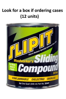 SLIPIT Sil- Free Sliding Compound (Quart)