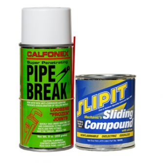 Combo Pack SLIPIT Sliding Compound & Pipe Break *NO AIR SHIP-GRND ONLY*