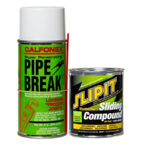 Combo Pack SLIPIT Sil-Free Sliding Compound & Pipe Break *NO AIR SHIP-GRND ONLY*
