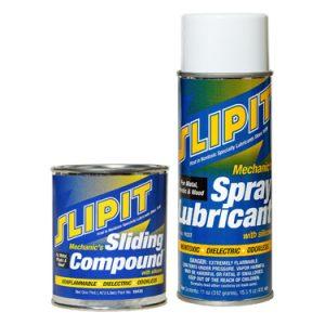 1Combo Pack SLIPIT Sliding Compound & SLIPIT Spray Lubricant *NO AIR SHIP-GRND ONLY*