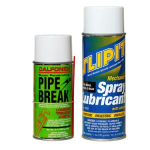 Combo Pack SLIPIT Spray Lubricant & Pipe Break *NO AIR SHIP-GRND ONLY*